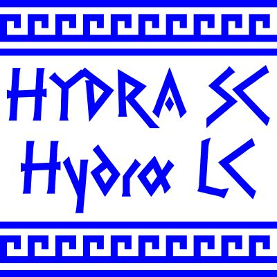 PR Hydra font family